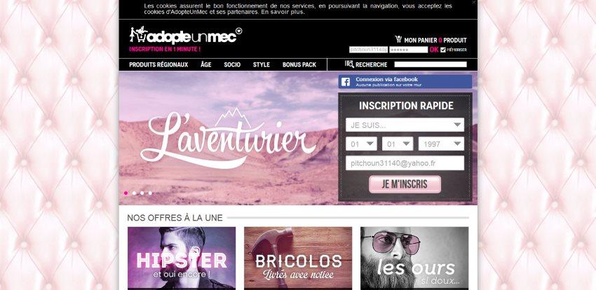 Site de rencontre genre adopteunmec