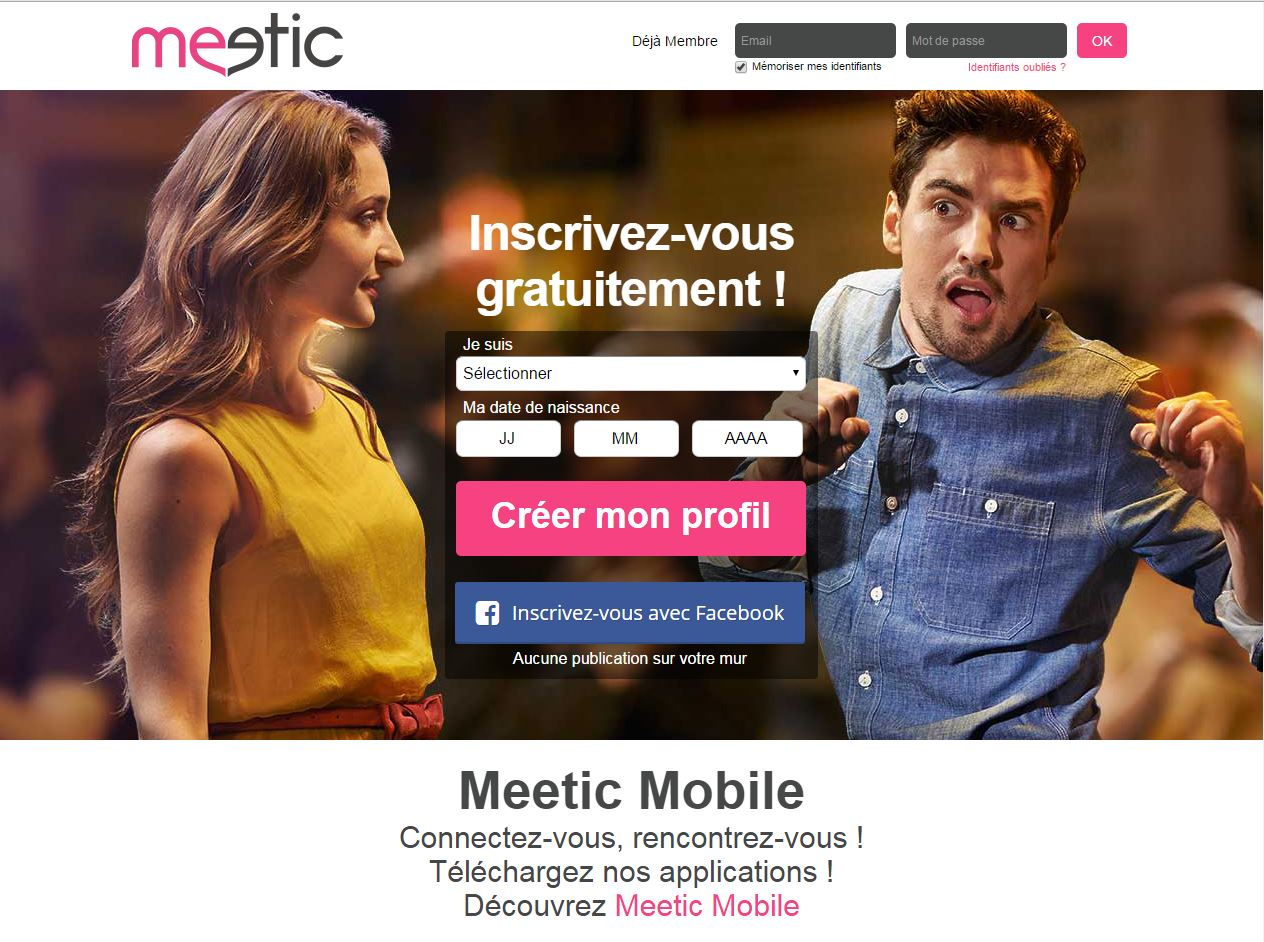 Site rencontre meetic affinity
