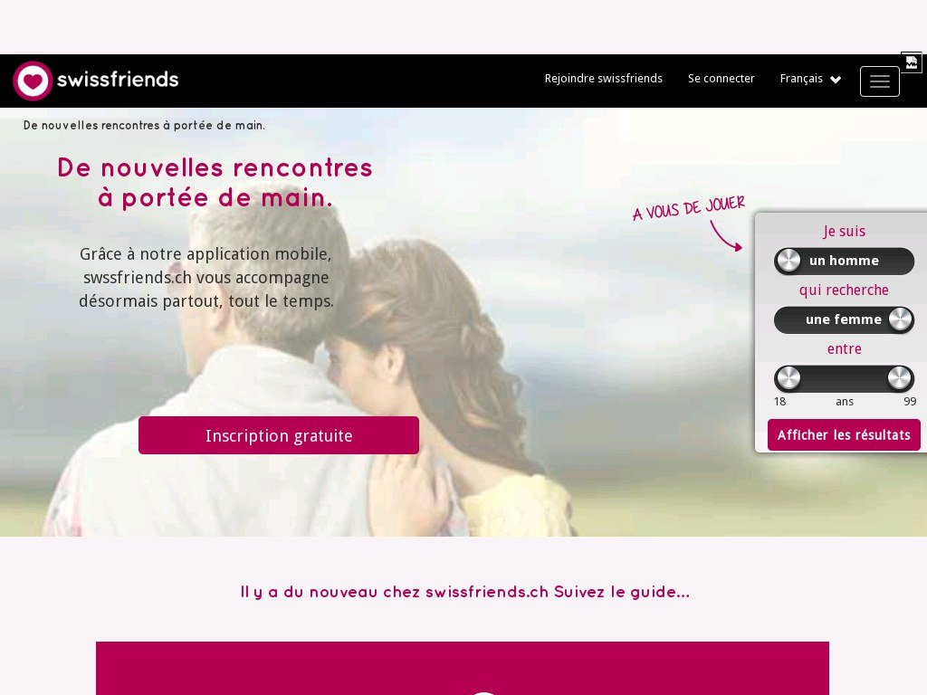 SwissFriends - Avis Test et Critique