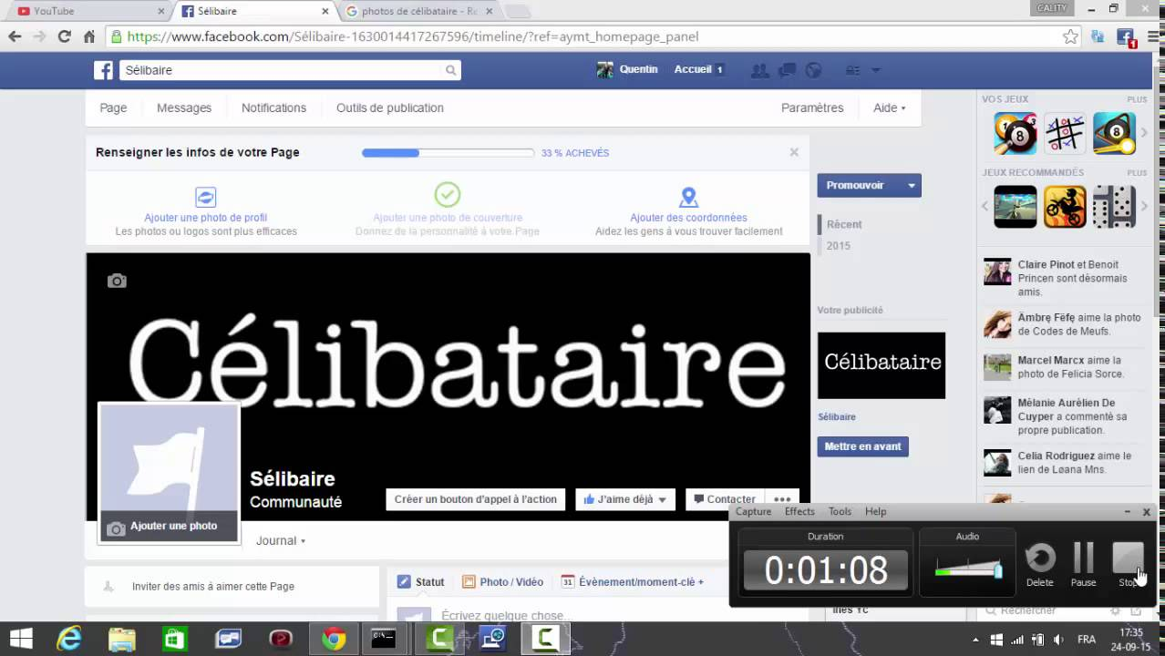 Rencontres facebook application