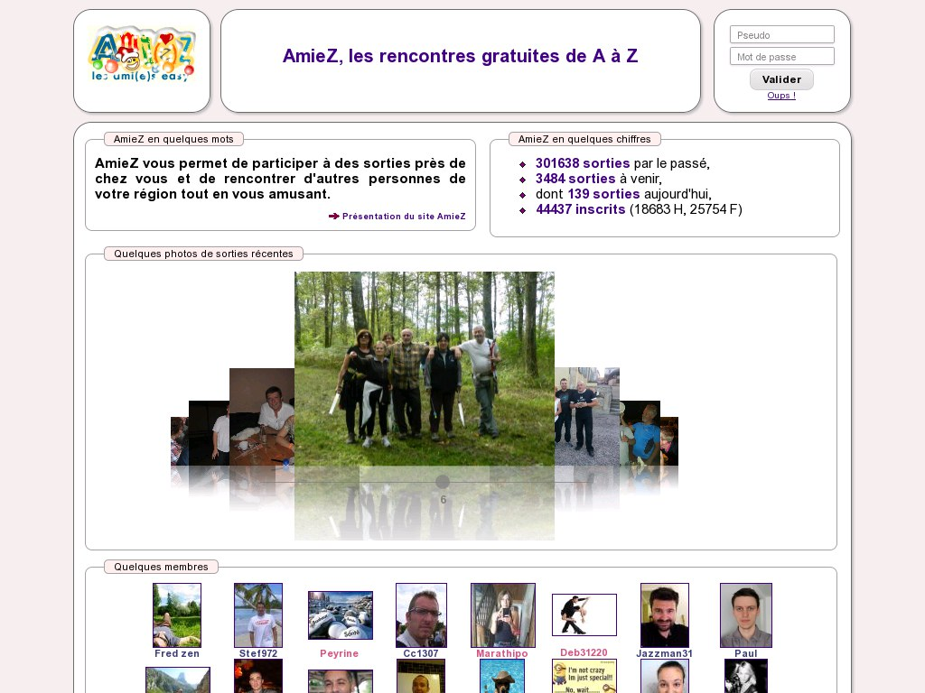 Forum site de rencontre be2