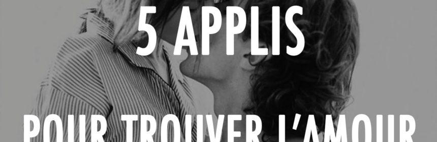 Top 5 applications Rencontres 2016