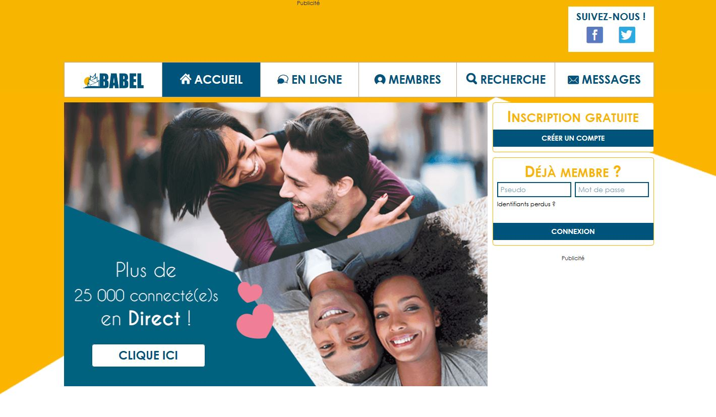 Babel site de rencontre gratuit international