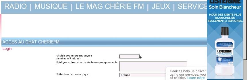 Chat Cherie FM - Avis, Test et critique