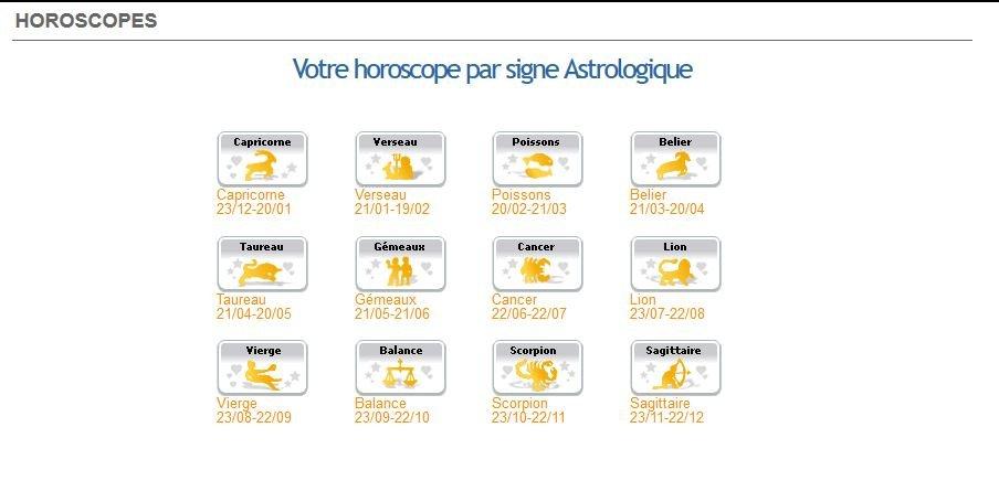Horoscope sur Oulfa