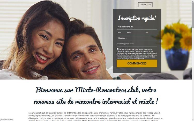 Mixte-Rencontres.club, votre nouveau site de rencontre inter