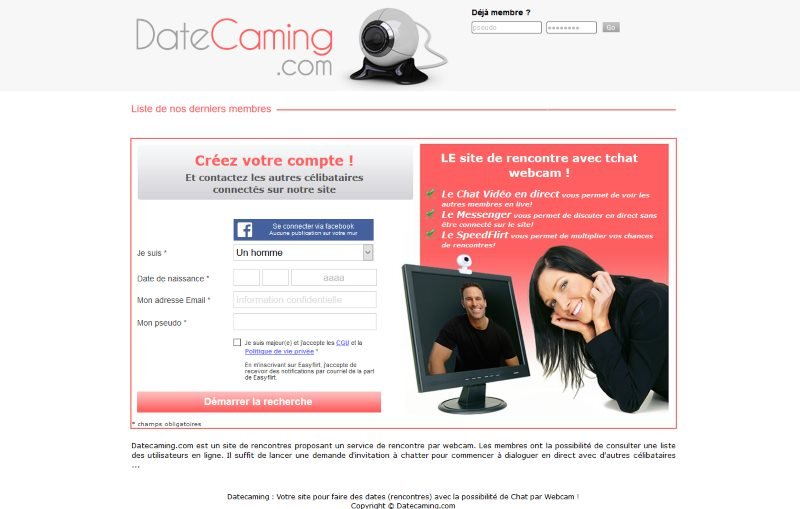 Datecaming - Test, Avis et Critique