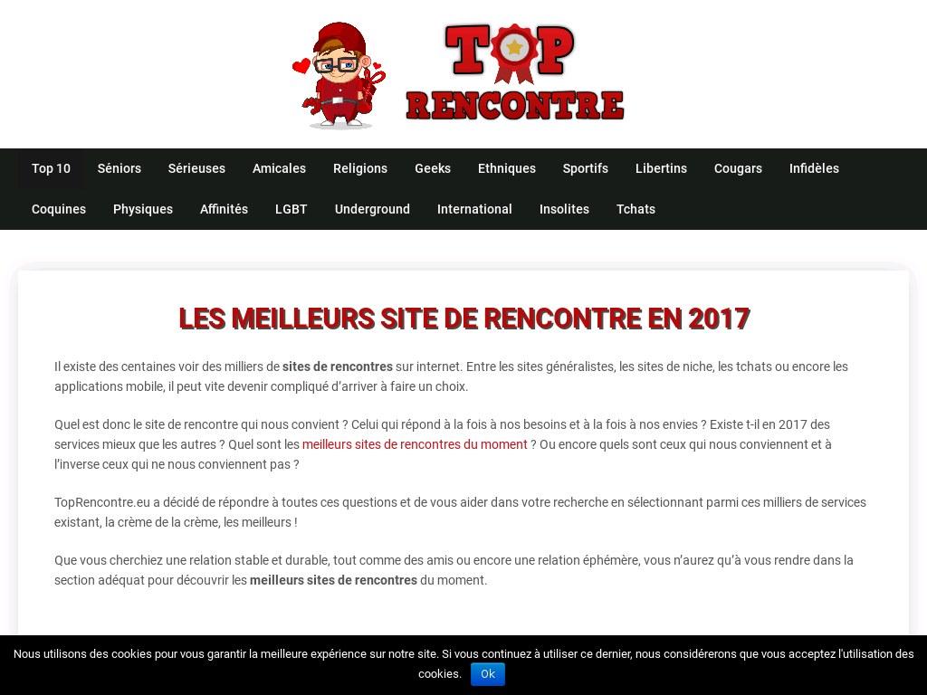 Toprencontre.eu - Classement des meilleurs sites de rencontres