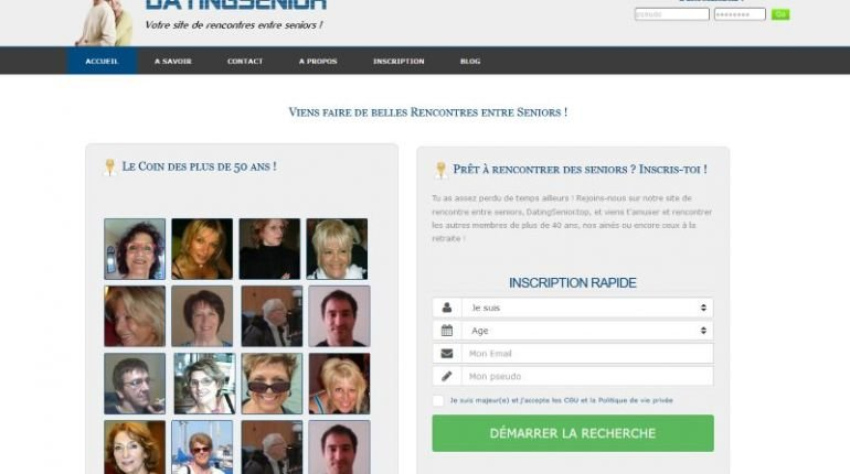 Datingsenior - Test, Avis et Critique